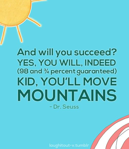 motivational quotes for kids, best, sayings, dr seuss