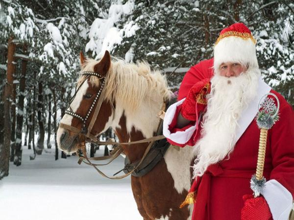 santa claus, father frost, father christmas
