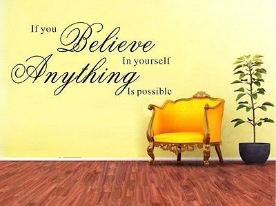 wall quote stickers, positive, best, sayings