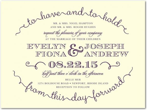Love Marriage Wedding Invitation Wording: Wedding Invitation Quotes, Cute, Positive, Sayings, Photo