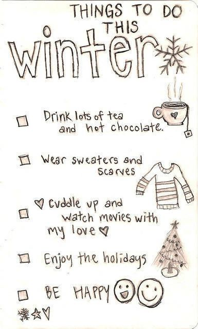winter, quotes, season, sayings, positive, doing