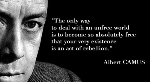 Albert Camus Quotes and Sayings, meaningful