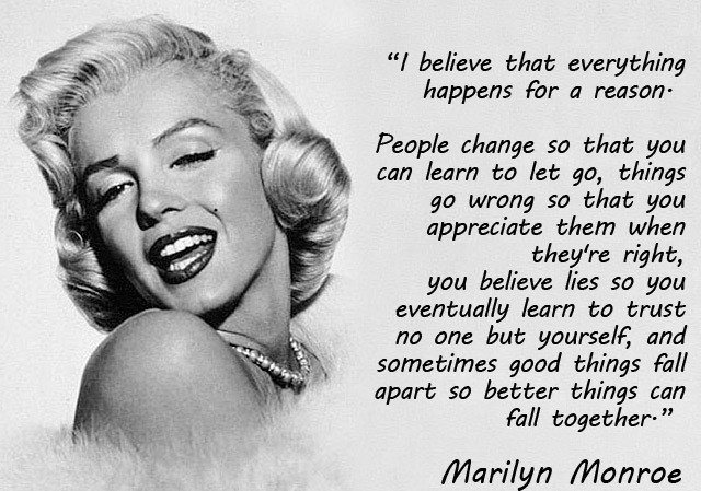 Best Marilyn Monroe Quotes and Sayings, life, reason, wise