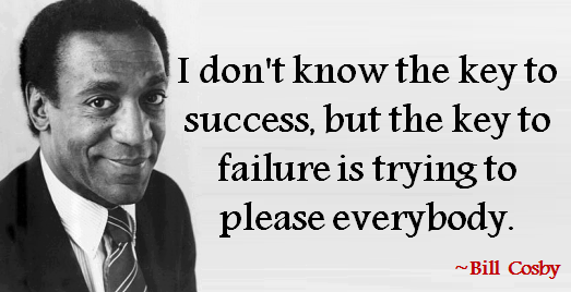 Bill Cosby Quotes and Sayings, short, wisdom