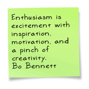 Bo Bennett Quotes and Sayings, enthusiasm, wise