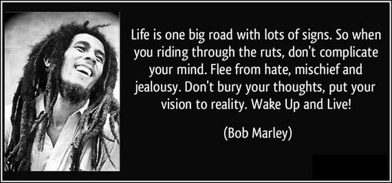 Bob Marley Quotes and Sayings, life, thoughts
