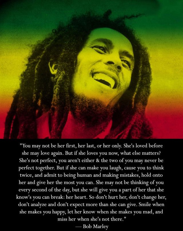 Bob Marley Quotes and Sayings, love, deep