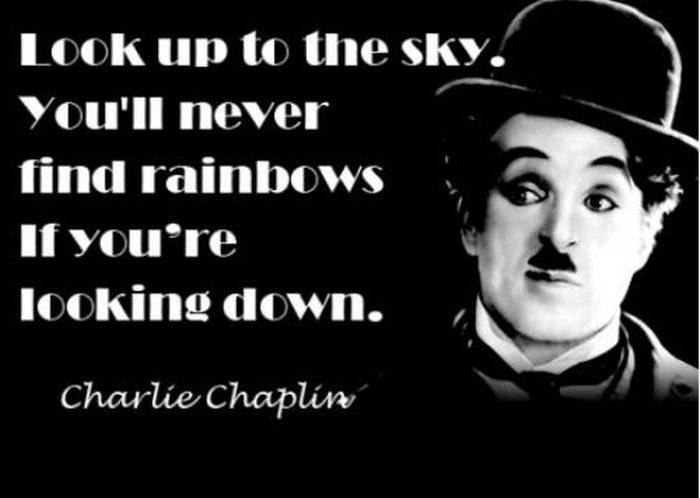 Charlie Chaplin Quotes and Sayings, deep, wise, cool