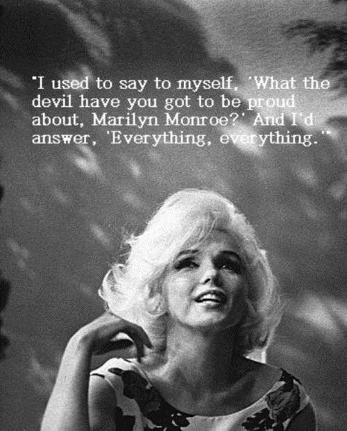 Cute Marilyn Monroe Quotes and Sayings, deep, wise