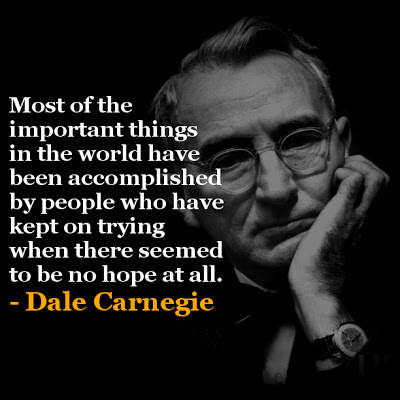 Dale Carnegie Quotes and Sayings, best, wise