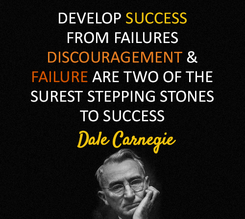 Dale Carnegie Quotes and Sayings, success, positive