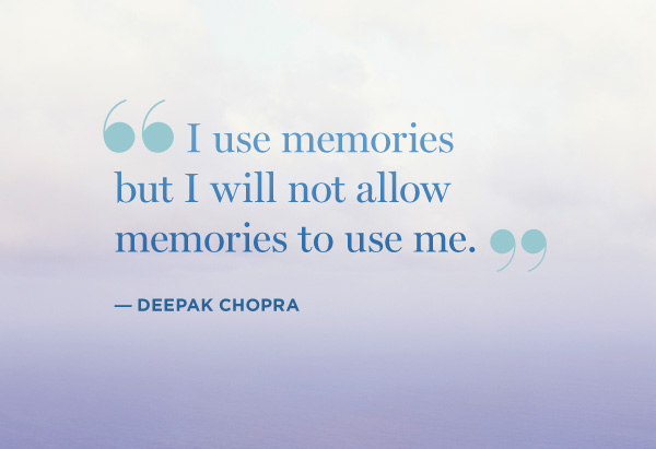 Deepak Chopra Quotes and Sayings, memory, brainy