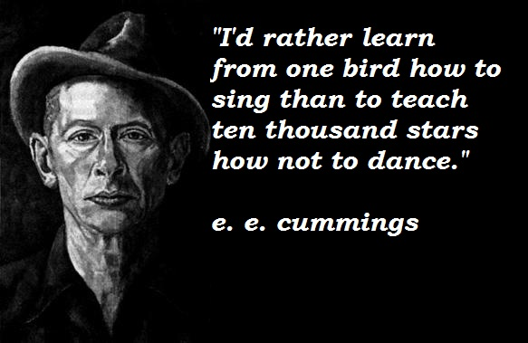 E. E. Cummings Quotes and Sayings, best, deep