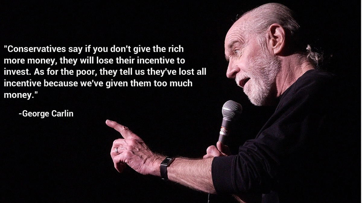 George Carlin Quotes and Sayings, brainy, famous