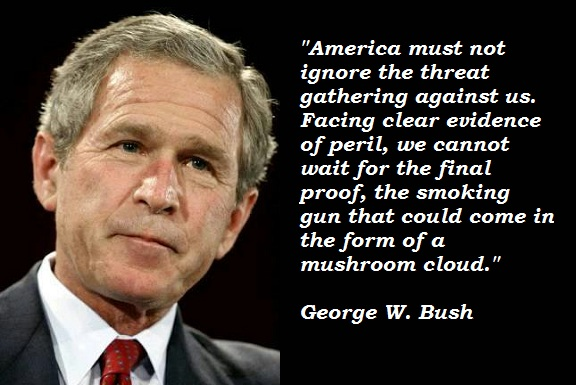 George W. Bush Quotes and Sayings, america, deep, wise