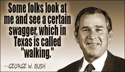George W. Bush Quotes and Sayings, meaningful, deep, famous