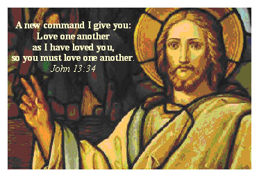 Jesus Christ Quotes and Sayings, love, positive