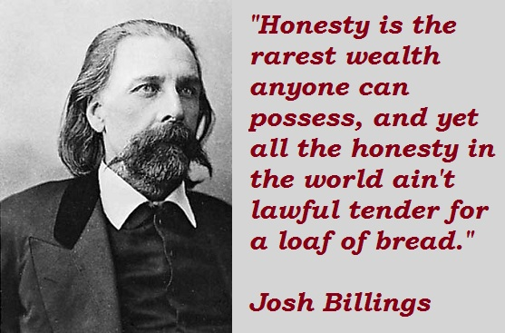 Josh Billings Quotes and Sayings, best, famous