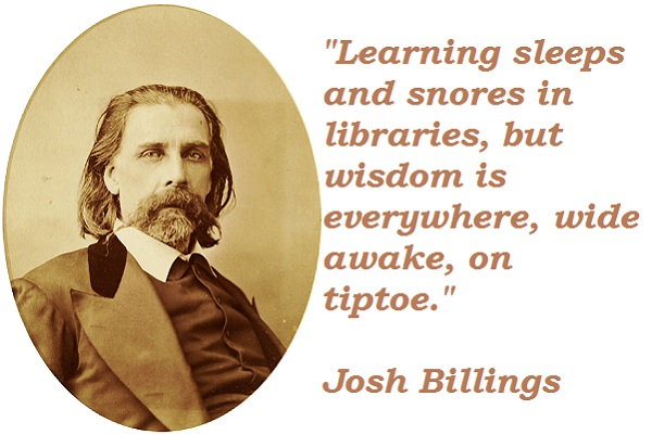 Josh Billings Quotes and Sayings, wisdom, best