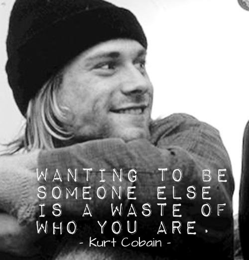 Kurt Cobain Quotes and Sayings, famous