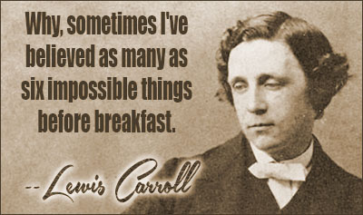 Lewis Carroll Quotes and Sayings, famous, deep