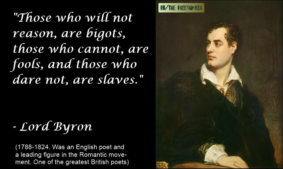 Lord Byron Quotes and Sayings, famous, best