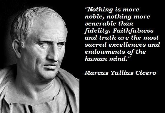 Marcus Tullius Cicero Quotes and Sayings, brainy, best