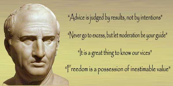 Marcus Tullius Cicero Quotes and Sayings, deep