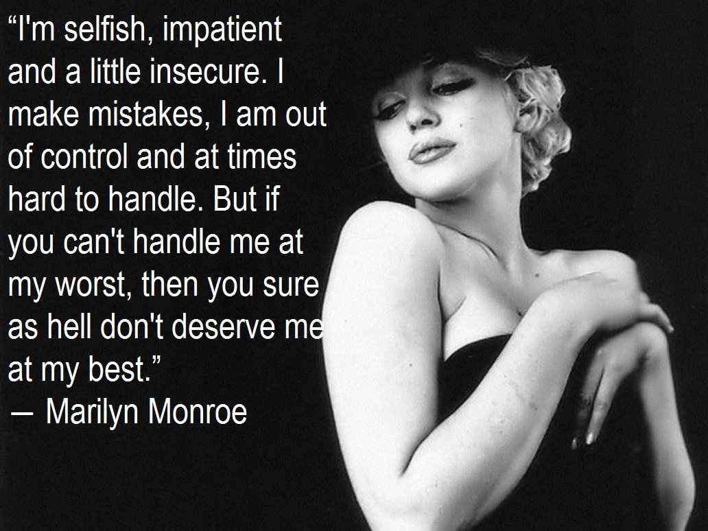 Famous Marilyn Monroe Quotes About Love: Marilyn Monroe Quotes And Sayings