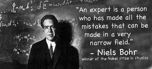 Niels Bohr Quotes and Sayings, brainy, man
