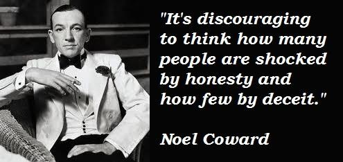 Noel Coward Quotes and Sayings, wise