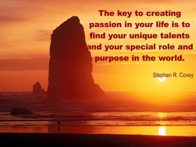 Stephen Covey Quotes and Sayings, talents, deep