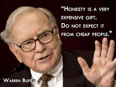 Warren Buffett Quotes and Sayings, honesty