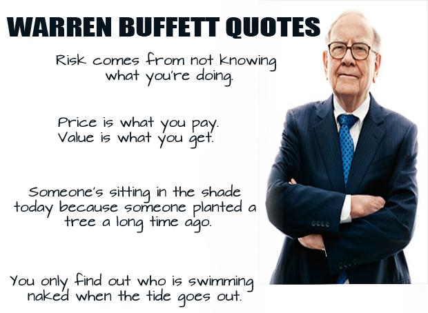 Warren Buffett Quotes and Sayings, risk, price