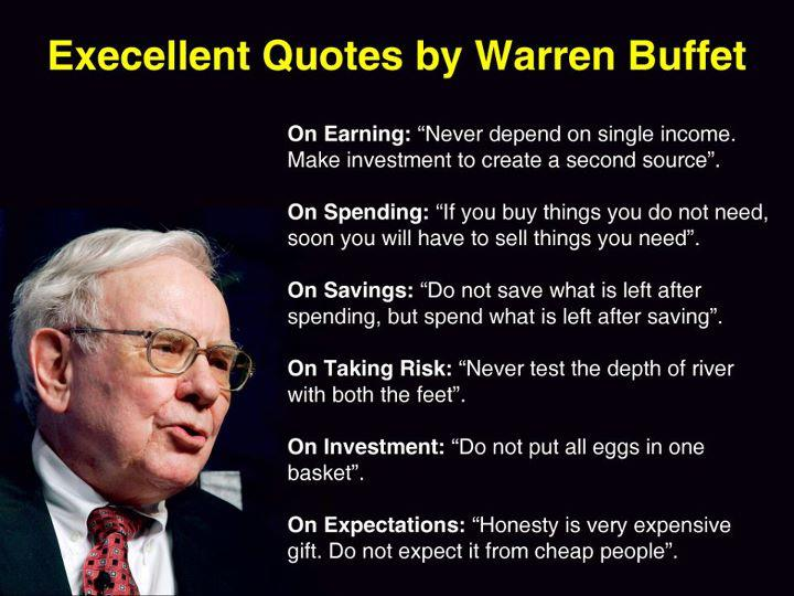 Warren Buffett Quotes and Sayings, wise, wisdom, money