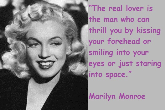 Wise Marilyn Monroe Quotes and Sayings, lover, cute, deep