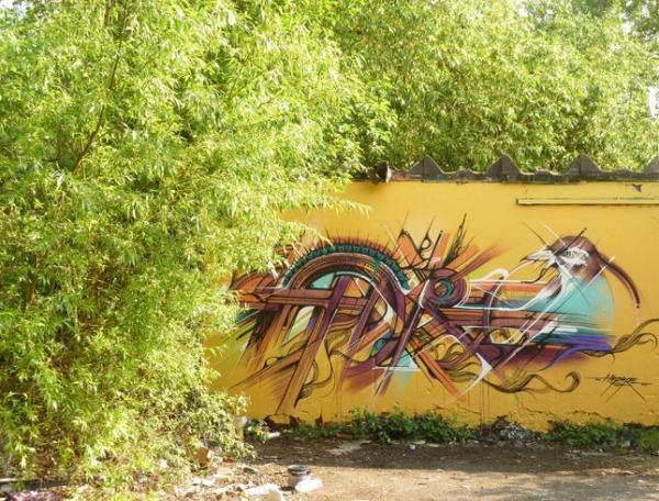 Street artist Hopare, art, image