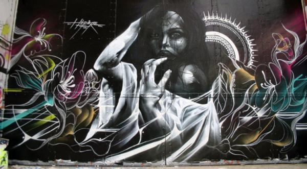 Street artist Hopare, image