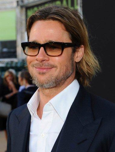 Brad Pitt, celebrity, man, glasses