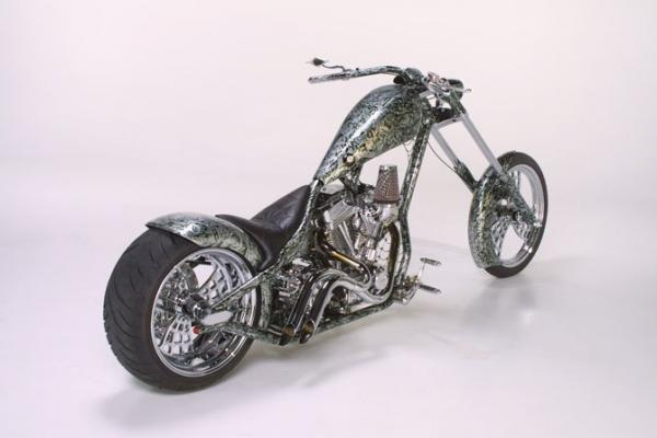 Choppers from Texas, cool, bike, painting, vehicle