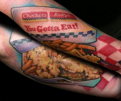 Gastro tattoos, food, design, idea, picture