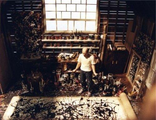 Jackson Pollock, artist