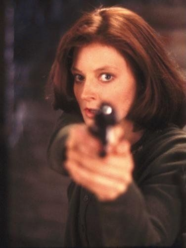 Jodie Foster in the movie Silence of the Lambs