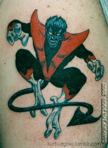 Tattoo, style, X-Men, design, ideas, photoshoot