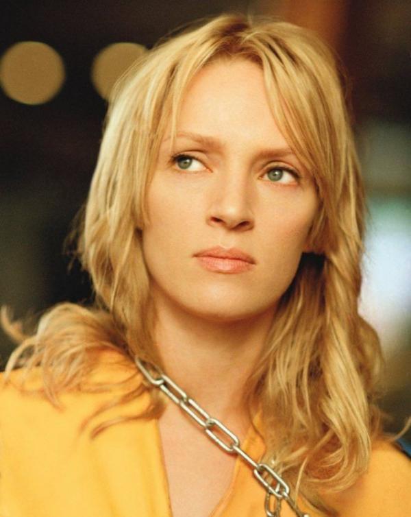 Uma Thurman in the movie Kill Bill
