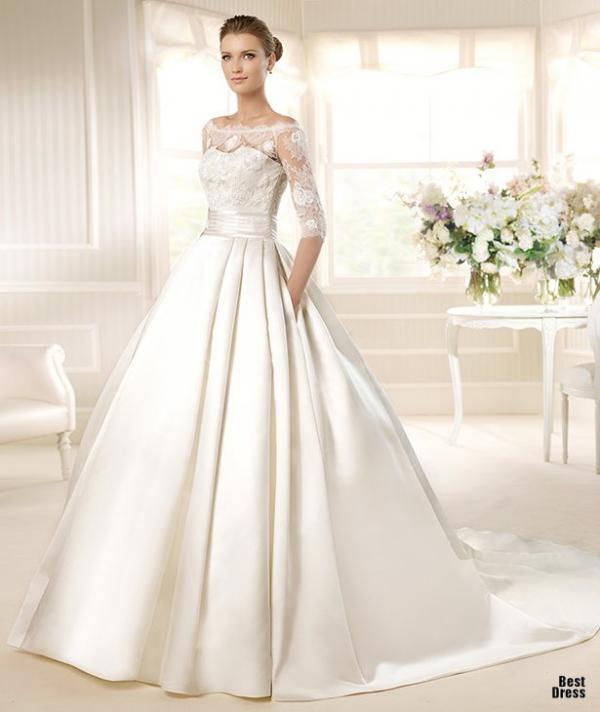 Best designer wedding dress, stylish gown, female, photography