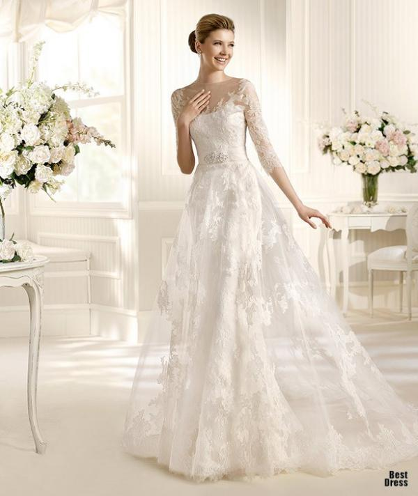 Best designer wedding dress, stylish gown, woman, photography