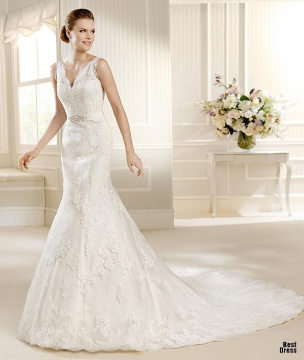 Best designer wedding dress, stylish gown, woman, photoshoot