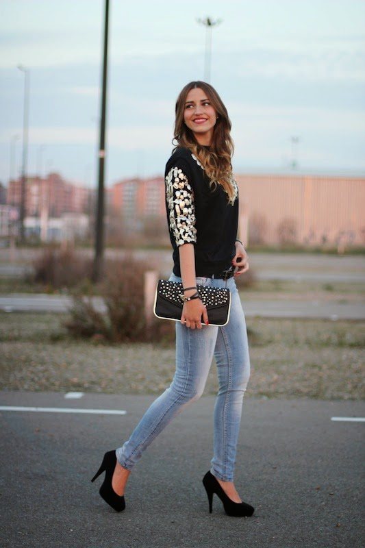 Cute lady, street style, clothes, outfit