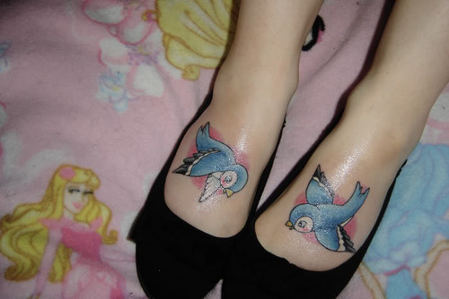 Fabulous tattoo, design, tattoos, birds